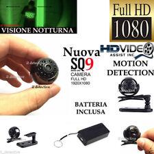 Telecamera spia microcamera infrarossi nascosta HD micro camera  mini sq9