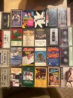 Lot of 24 Cassette Tapes Various Artists Genre Excellent