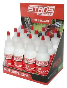 Stans NoTubes Solution Tubeless Tyre Sealant 2oz Bottle | MTB | Puncture | Bike