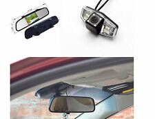"Backup Camera For Honda Accord Pilot Civic Odyssey Acura TL +4.3"" Mirror Monitor"