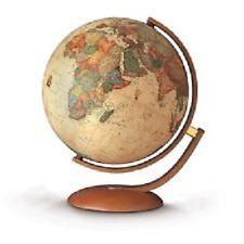 mappamondo optimus, globo terrestre con base e semiasse in legno ditta Nova Rico