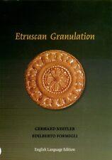 Etruscan Granulation Ancient Gold Jewelry Roman Italy Fibulae Daggers Earrings