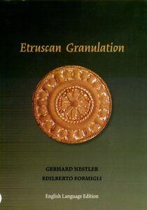 Ancient Etruscan Roman Italy Gold Granulation Jewelry Fibulae Daggers Earrings