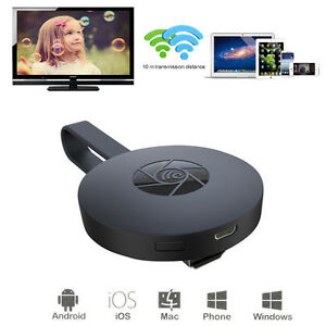 HDMI Display Wireless WiFi Dongle Adapter Mirror to TV For iPAD iPhone Android