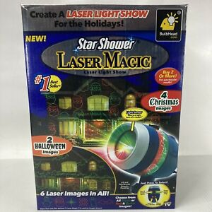 Star Shower Laser Magic Holiday Projector Laser Light Show Christmas & Halloween
