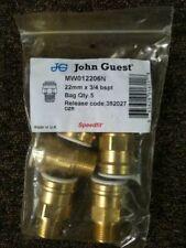 John Guest Brass Plumbing Pipe Fittings