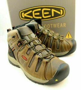 KEEN Utility 1023242D Men's Flint II Work Boots Shoes Sz 10.5 D US 9.5 UK