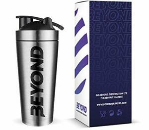 Fitness Premium Insulated Stainless Steel Protein Mixer Shaker Supplement bottle