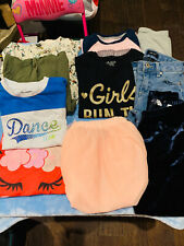 10 Pieces Of Girls Fall Winter Clothes Lot Size 7/8 Old Navy, Place Children's