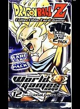 Dragon Ball Z CCG Complete your Limited FOIL World Games Set! Choose your cards!