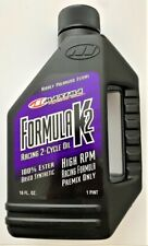 HONDA CR250R YZ250 Maxima 22916 Formula K2 2-Stroke Synthetic Racing Premix Oil