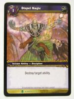 WoW: World of Warcraft Cards: DISPEL MAGIC 77/361 - played