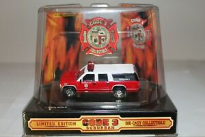 Code 3 Chief/'s Edition Very Hard to Find Battalion #5 164 GMC Suburban