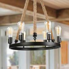 LNC Vintage Chandeliers 6-Light Chandelier Lighting Rustic Pendant Lighting