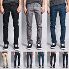 Victorious Mens Skinny Fit Stretch Raw Denim Jeans   DL936 - FREE SHIP