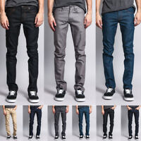 Victorious Men's Skinny Fit Stretch Raw Denim Jeans   DL936 - FREE SHIP