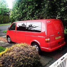 Camper Van Window Fitting, Insulation & Carpet Lining - VW T5 T4 Campervan