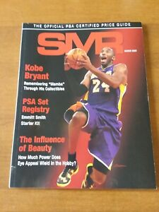 PSA Grading SMR Price Guide March 2020 w/ Kobe Bryant Los Angeles Lakers