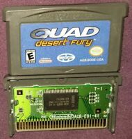 Quad Desert Fury (Nintendo Game Boy Advance, 2003) GBA Gameboy
