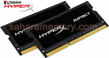 32GB Kit (2x16G) Kingston DDR4 2400 Hyper Laptop SODIMM HX424S14IBK2/32 iMac2017