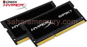 32GB Kit(2x16G) Kingston DDR4 2666 Hyper Laptop SODIM HX426S15IB2K2/32 iMac2017
