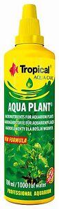TROPICAL AQUA PLANT LIQUID FERTILIZER For TREATMENT LIVE PLANTS IN AQUARIUM TANK