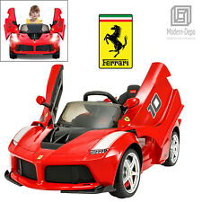 Rastar Ferrari LaFerrari FXX K 12V Kids Ride On Car with Remote Control