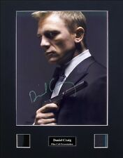 Daniel Craig - James Bond Signed Film Cell Presentation