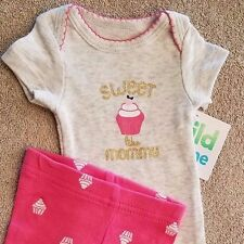 DARLING! NEW PREEMIE CHILD OF MINE BY CARTER'S 2PC SWEET LIKE MOMMY OUTFIT