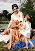 """high quality oil painting  handpainted on canvas """"The Offering"""""""