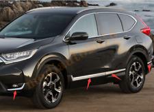 Fits Honda CR-V 2017-19 Door Side Line Cover ABS Chrome Molding Guard Trim 8PCS