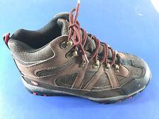 🔥NWOT🔥 SWISS GEAR® Men's Brown Leather Hiking Trail Walking Shoe Boot Sz 9.5M