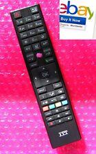 ITT Remote Control Genuine LCD LED TV ORIGINAL Fernbedienung Télécommande ITT