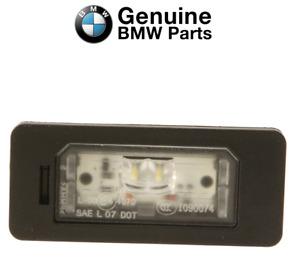For BMW E82 E88 F10 F15 F22 F30 F32 F33 F36 F80 License Plate Light LED Genuine