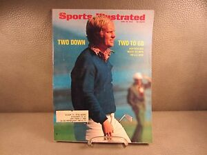 Vintage Sports Illustrated June 26,1972 Golf Jack Nicklaus The US Open Cover