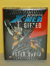 Astonishing X-Men: Gifted Hc - Novel Adapted by Peter David - Marvel - Sealed
