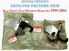 Genuine OEM Honda Odyssey Rear Power Vent Window Motor Set 1999-2004