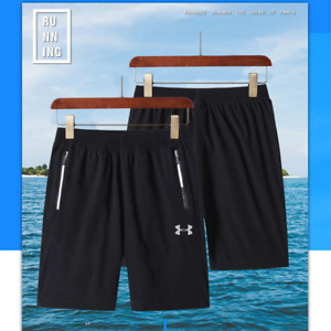 Hot Men's Under Armour Shorts Fitness Pants Training Sports Running Quick Dry