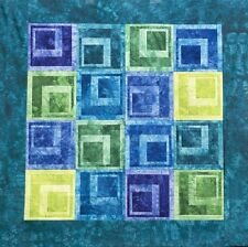 Quilt Kit~Starr Designs Wonky Blocks Jewel Tone Quilt Kit~Queen Size