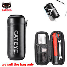 Cateye Cycling Tool Capsule Boxes Rainproof BikeTool Bag Black Set Bottle Cage