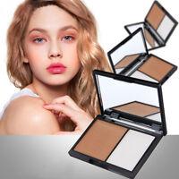 Makeup Face Contour Kit Highlighter Matte Highlighting&Bronzer Pressed Powder