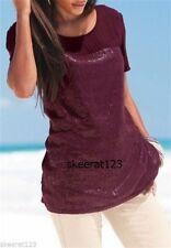 Next Women's Polyester Short Sleeve Sleeve Tunic, Kaftan Tops & Shirts