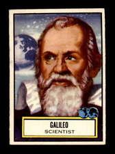 1952 Topps Look n See #127 Galileo  EXMT X1609899