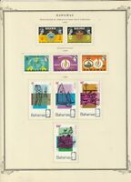 Bahama stamps (only), small collection of 17, 1967-68, MHOG, VVF, SCV $19