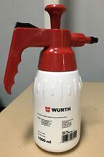 Genuine Wurth Spray Bottle / Pump Dispenser 1 Ltr Hand Pump Style [New Graphics]