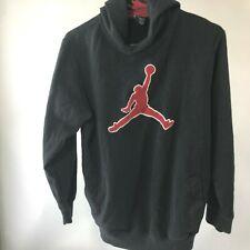 Nike Air Jordan Youth Large Black Hoodie Sweatshirt Jump Man