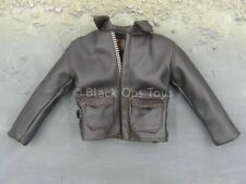 1/6 scale toy Indiana Jones - Classic - Brown Leather Like Bomber Jacket