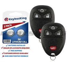 Fits 2005-2009 Pontiac Montana Keyless Entry Remote Car Key Fob 15114374 2x