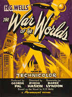 1953 WAR OF THE WORLDS VINTAGE MOVIE POSTER PRINT 24x18 9MIL PAPER