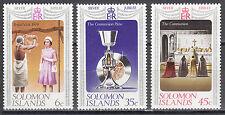 Solomon Islands Nr. 331-333** Silver Jubilee of Queen Elizabeth II.
